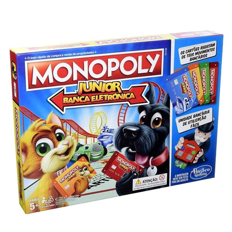 Monopoly eletrónico júnior