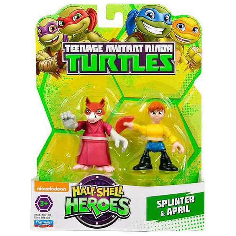 Tartarugas Ninja Hsh Blister 2 Personagens