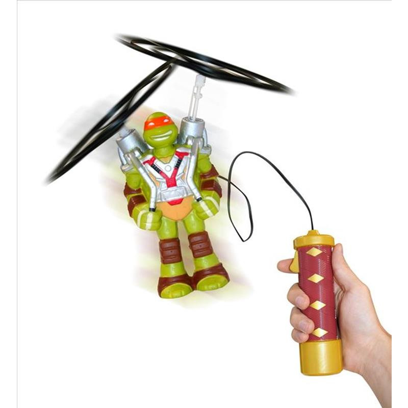 Tartarugas Ninja figura voadora Mike