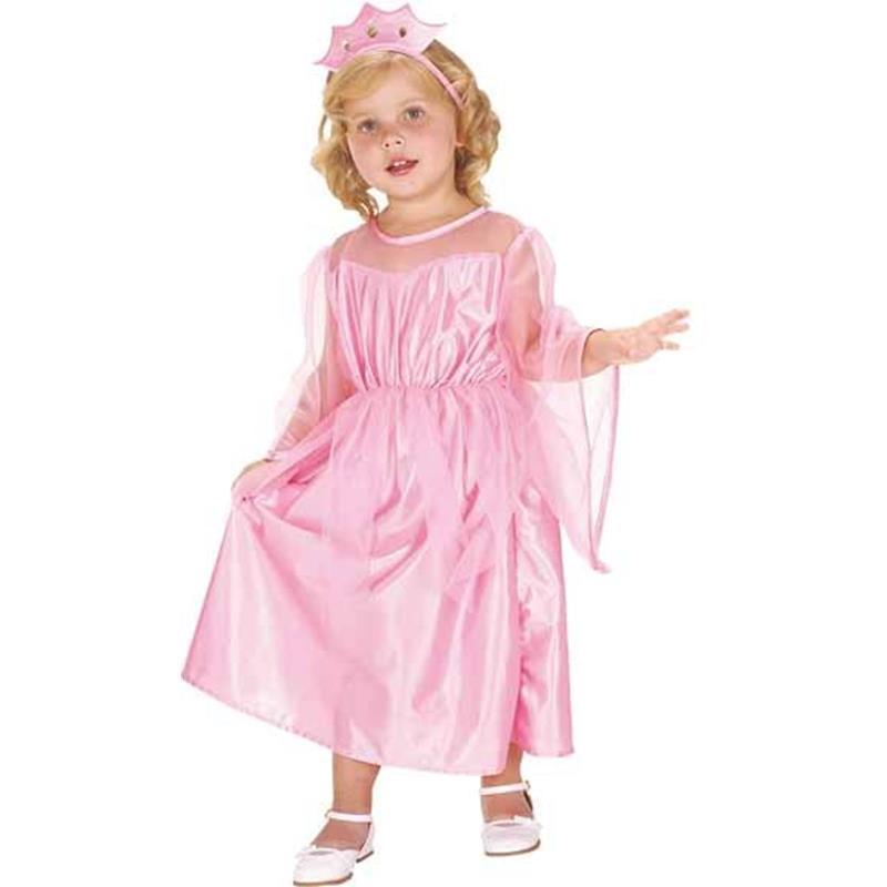 Disfarce Princesita Rosa Infantil