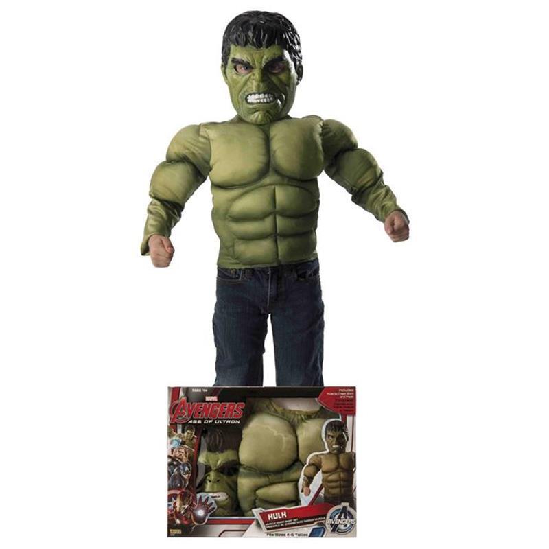 Disfarce Hulk infantil