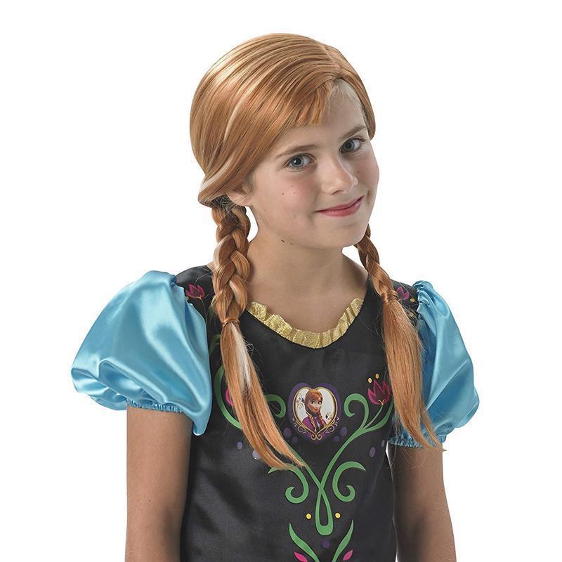 Peruca Anna Frozen
