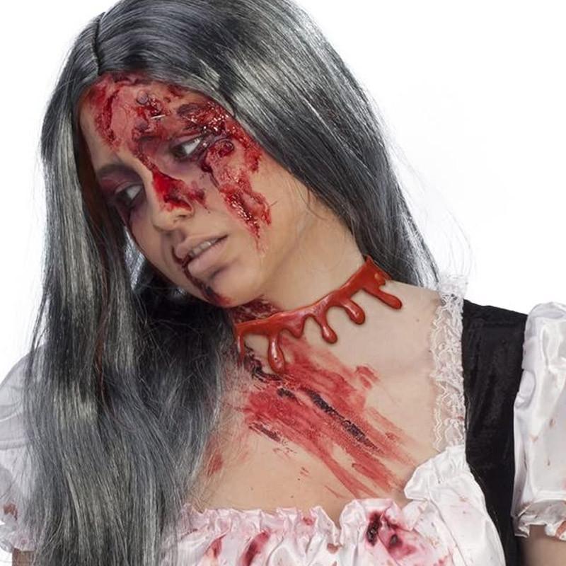 Colar Sangrante Zombie