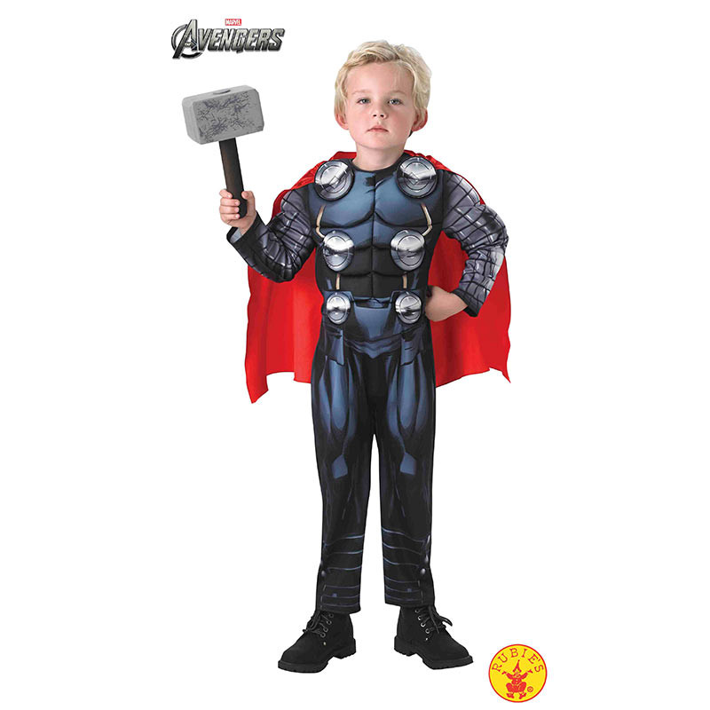 Disfarce Thor Avengers deluxe inf