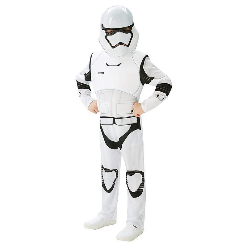 Disfarce Stormtrooper EP7 deluxe infantil