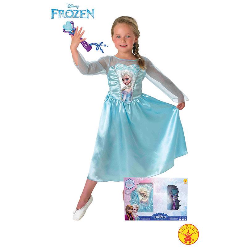 Disfraz Elsa Frozen com microfone inf