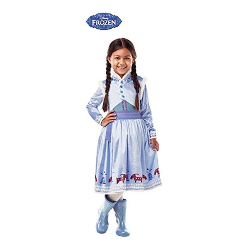 Disfarce Anna deluxe Frozen Aventura infantil