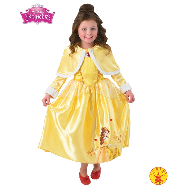 Disfarce Disney Princess Bela Winter infantil