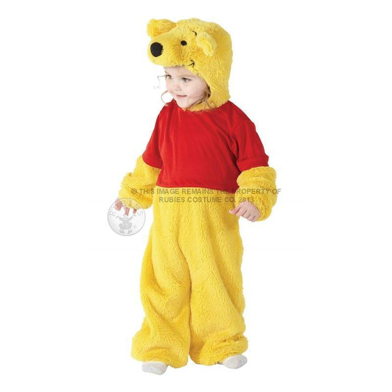 Disfarce Winnie The Pooh bebé deluxe