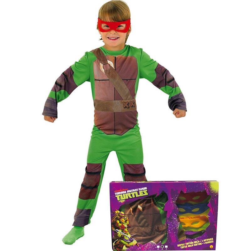 Disfarce Tartarugas Ninja infantil