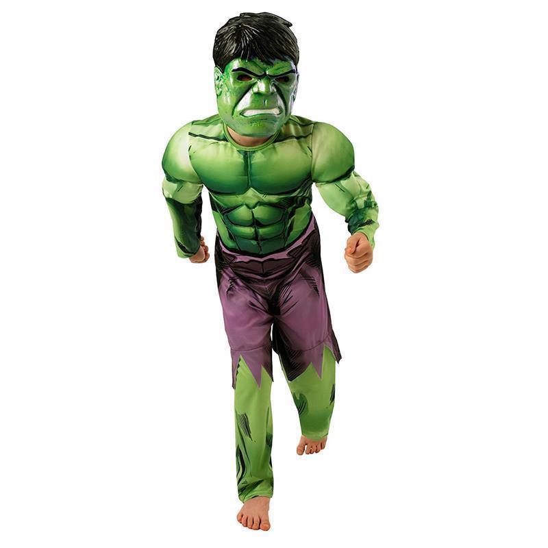 Disfarce Hulk Avengers deluxe infantil