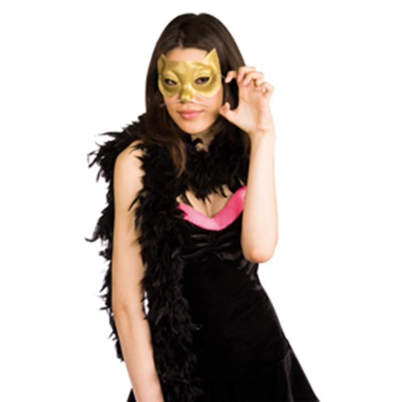 Mascara Glitter Gatinha Dourada Rubies