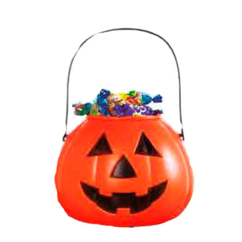 Abóbora porta doces Halloween
