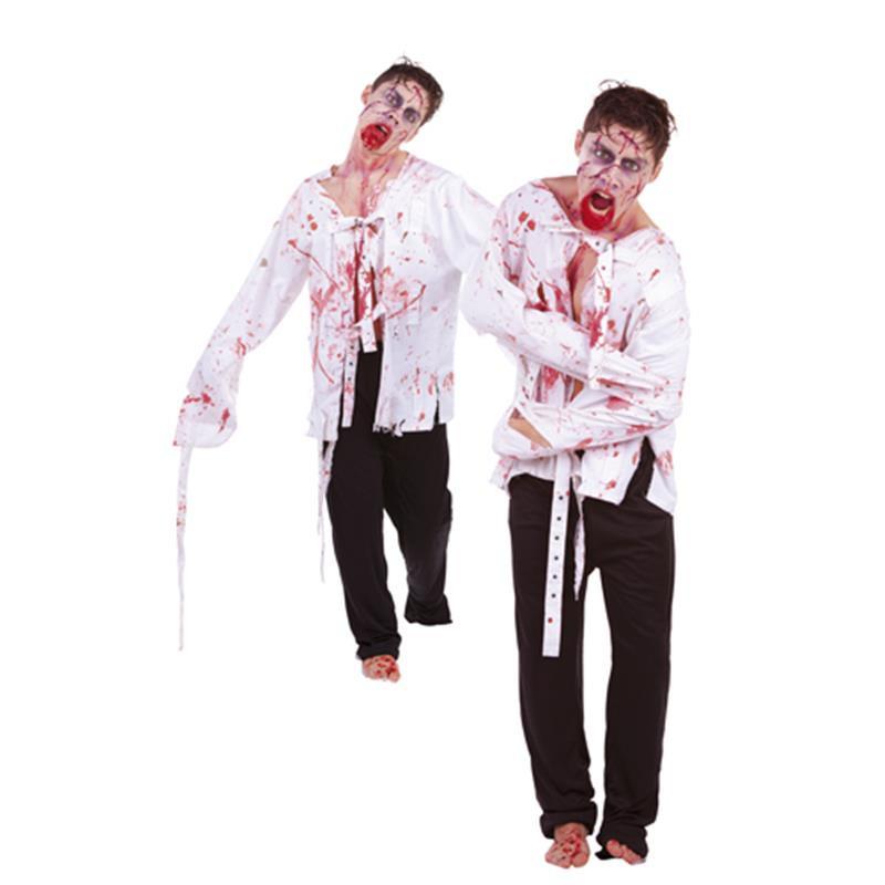 Disfarce Zombie Maluco Adulto T/U