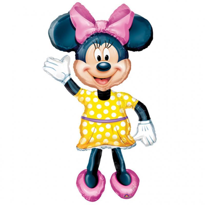 Balão figura Minnie