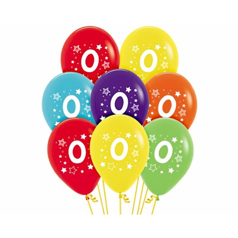 Balão látex número 0