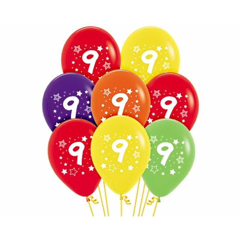 Balão látex número 9