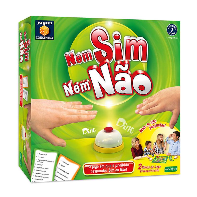 Jogos Concentra - Nem Sim Nem Não