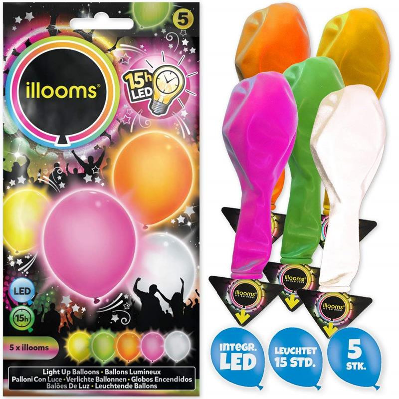 Illooms balões luminosos