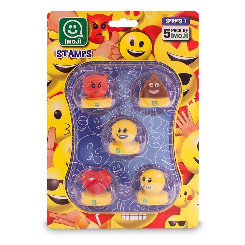 Emoji carimbos embalagem 5 unidades