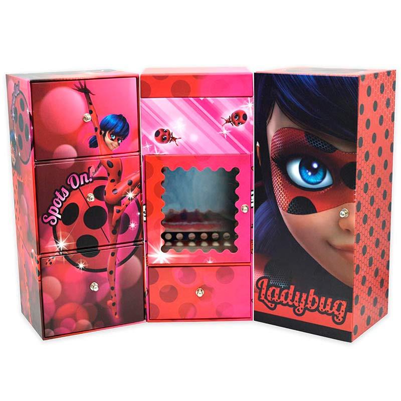 Cacifo triplo Ladybug