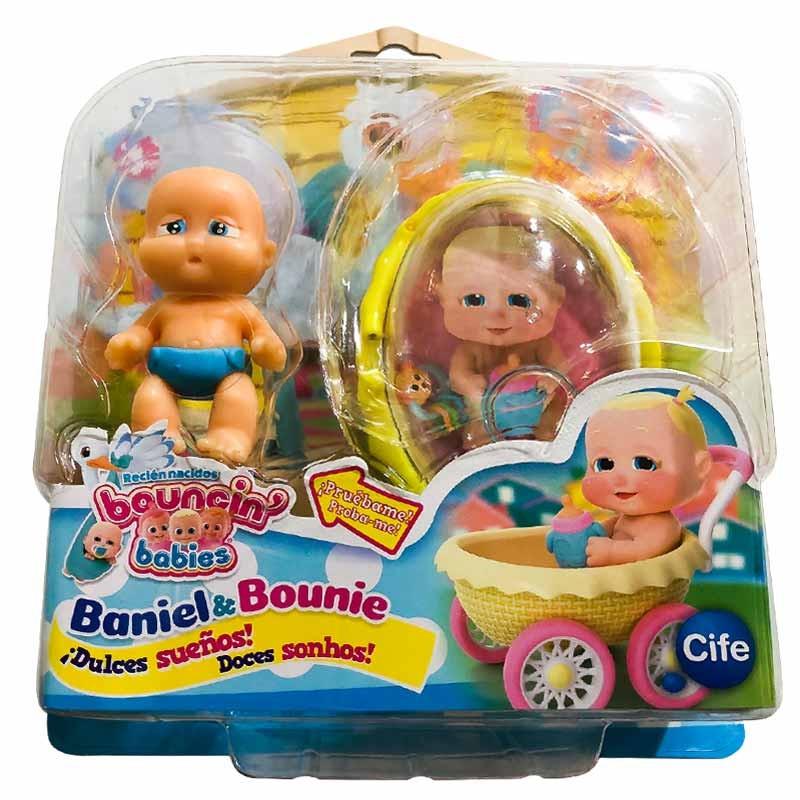 Bouncin Babies boneco Doces sonhos Sky
