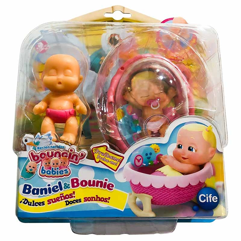 Bouncin Babies boneco Doces sonhos Park