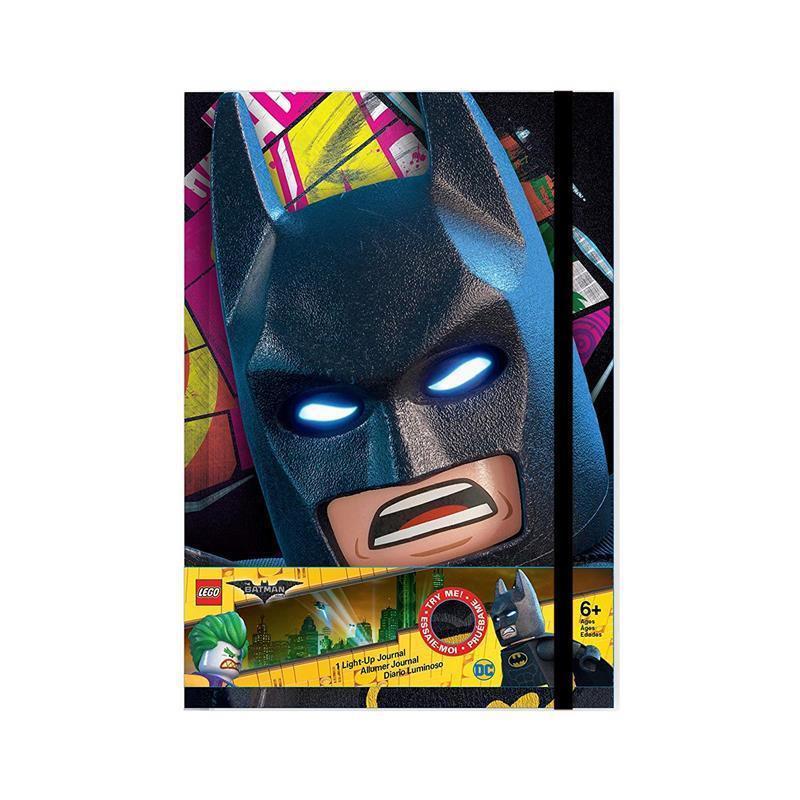Agenda com luz LEGO Batman