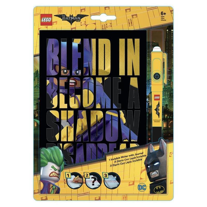 LEGO Batman Movie Batgirl agenda com caneta