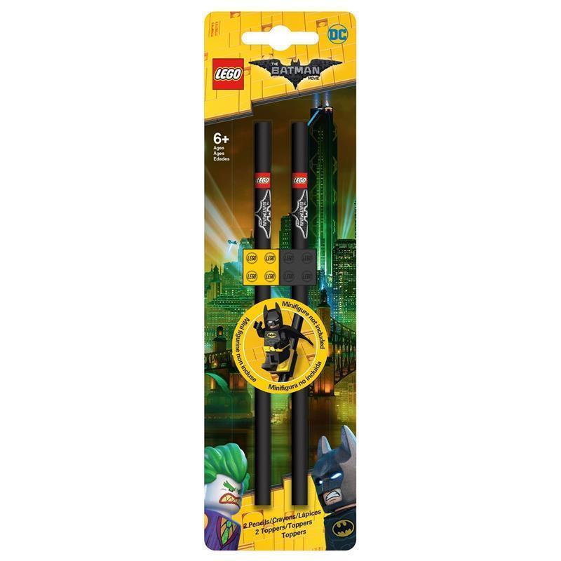 LEGO Batman Movie lápis com toppers