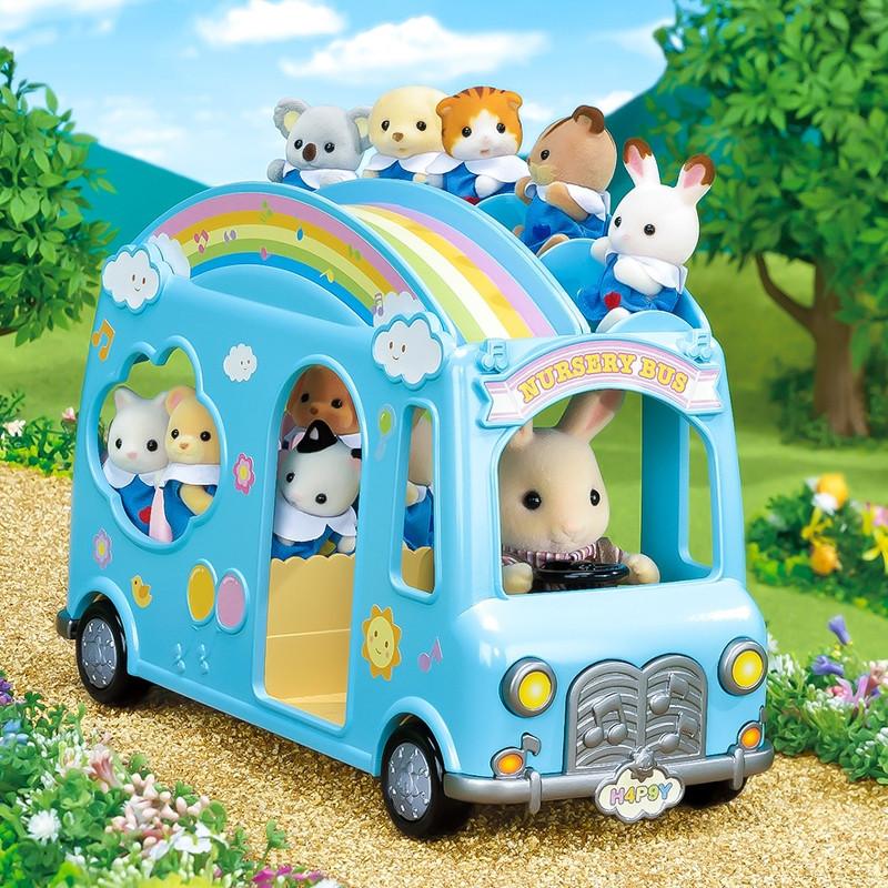 Sylvanian Families autocarro da creche