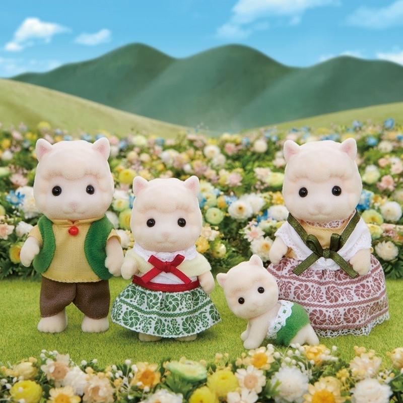 Sylvanian families Família Alpaca