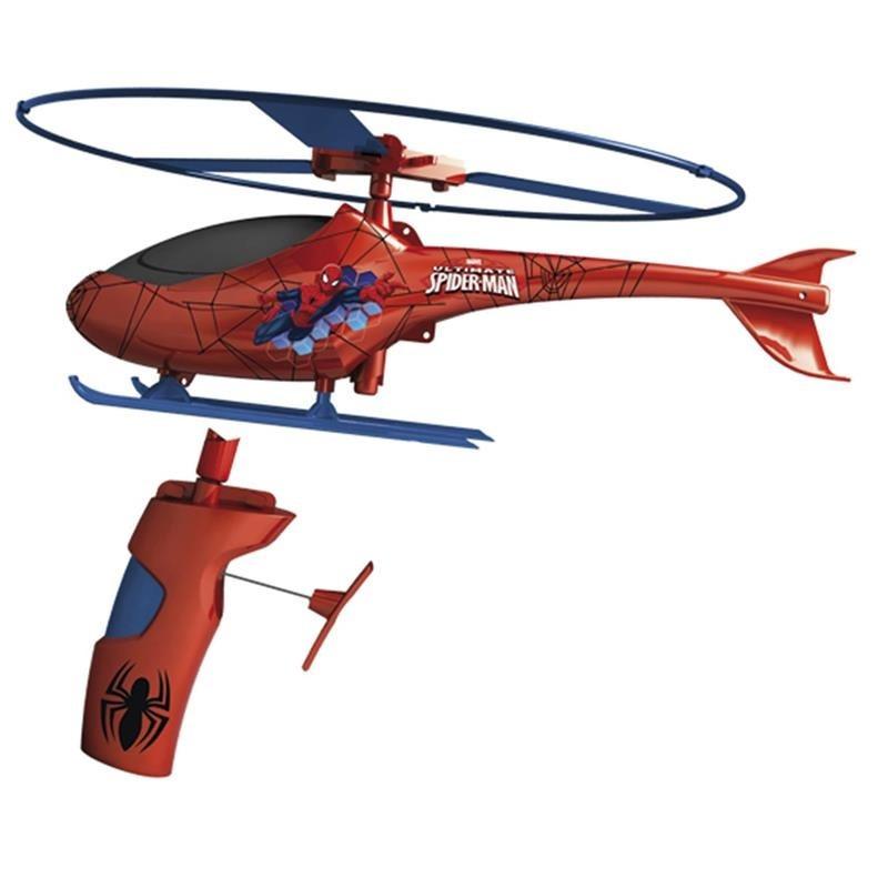 Spiderman helicóptero de resgate