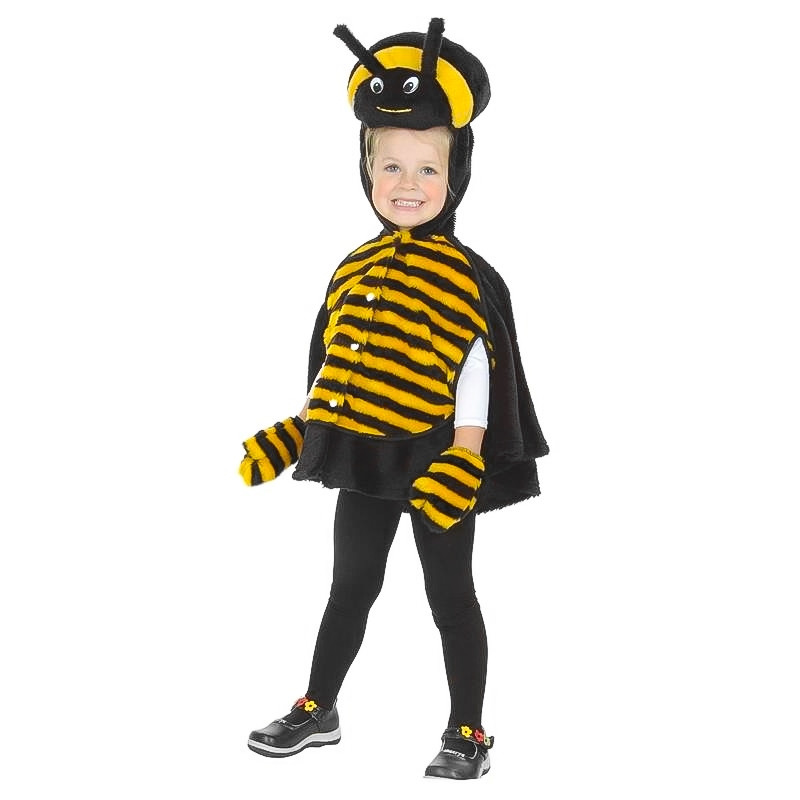 Disfarce de abelha para bebé