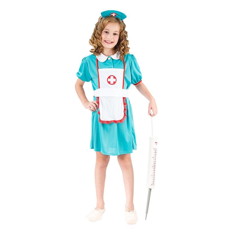 Disfarce enfermeira infantil