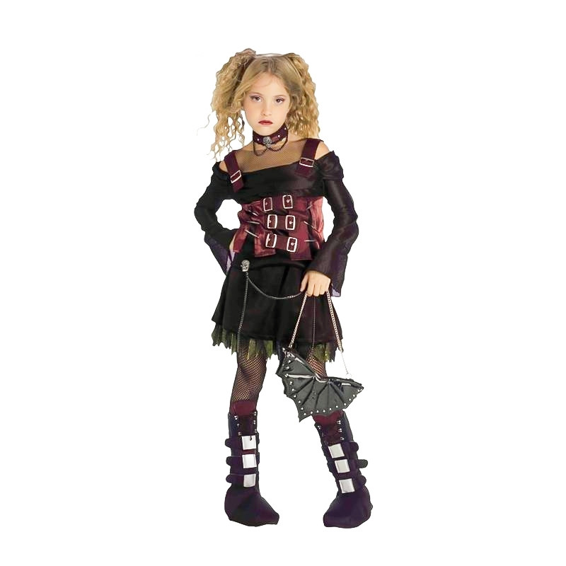 Disfarce Vampira Trendy Infantil