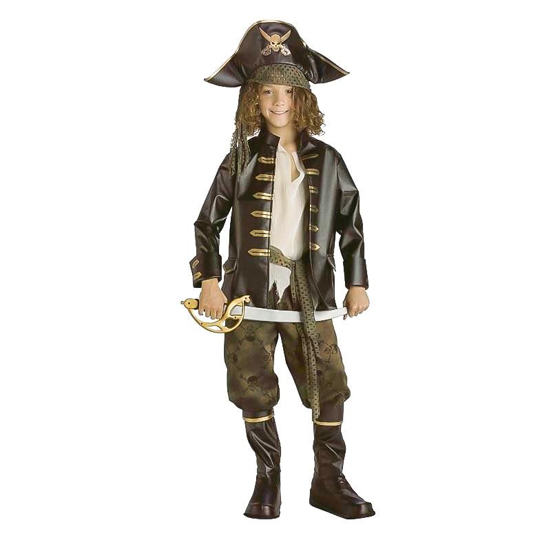 Disfarce Capitão Pirata dos 7 Mares