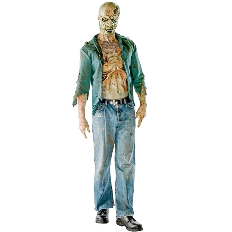 The Walking Dead - Disfarce Zombie Faminto Adulto