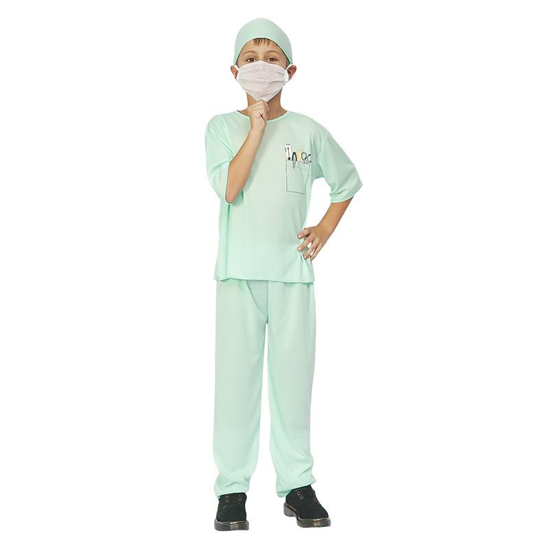 Disfarce médico infantil
