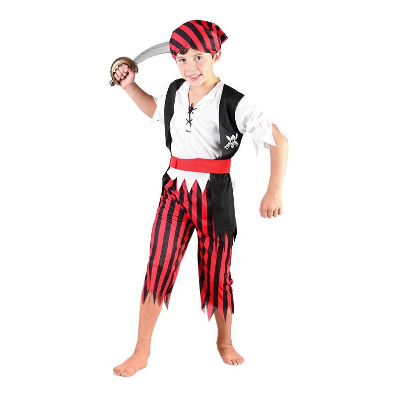Disfarce menino pirata infantil