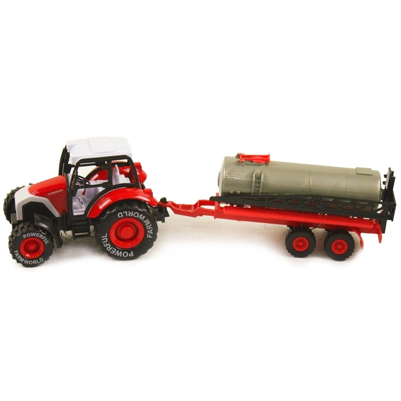Trator de quinta com reboque