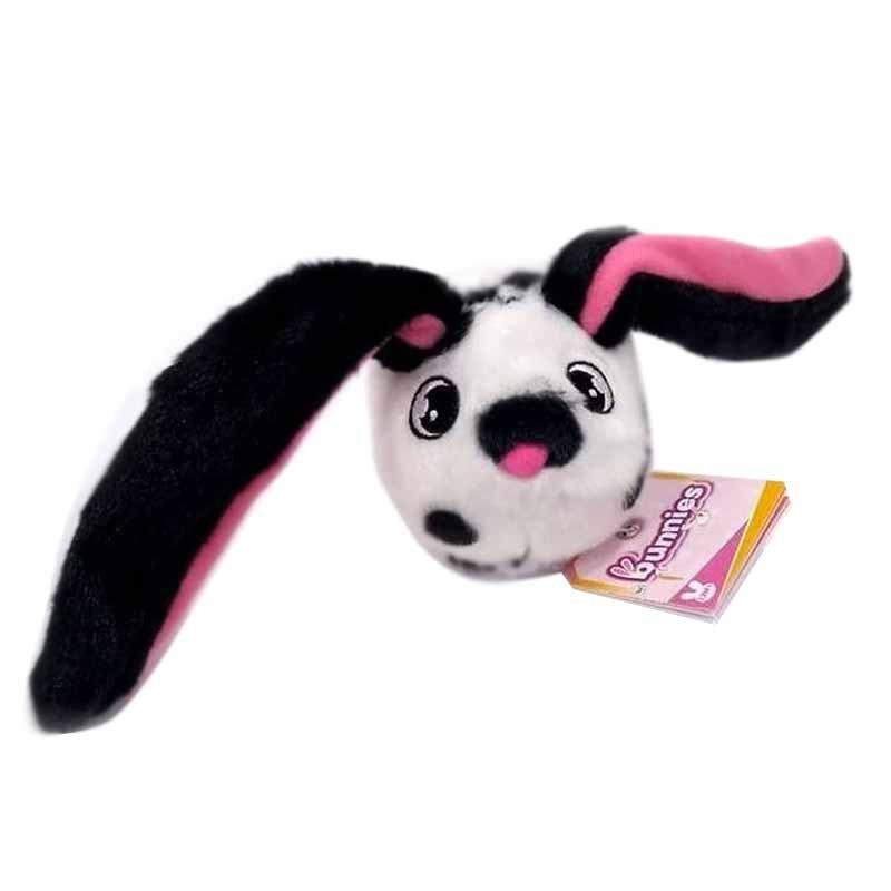 Bunnies branco com topos pretos