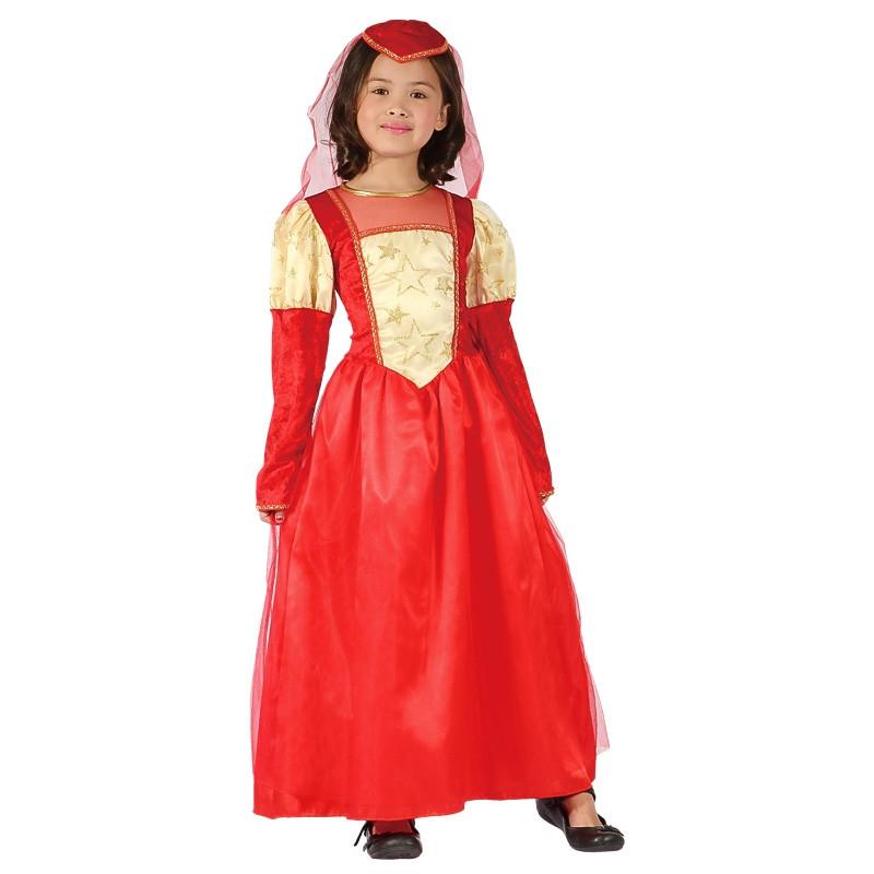 Disfarce princesa medieval infantil