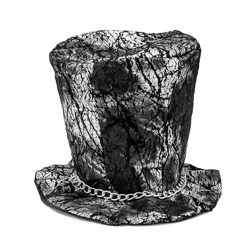 Chapéu Terror Preto Adulto Halloween