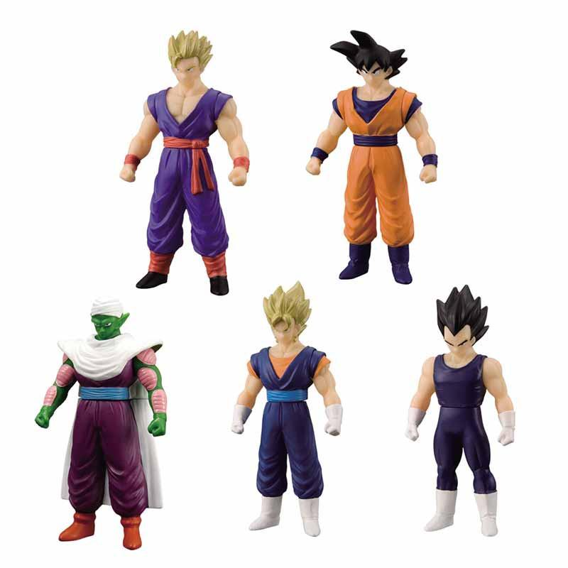 Set de 5 Herois Dragon Ball