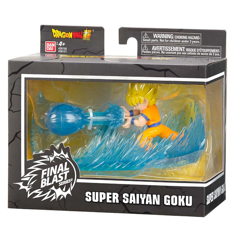 Figura Super Saiyan Goku Dragon Ball FinalBlast