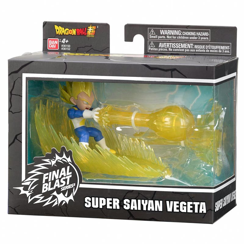 Figura Super Saiyan Vegeta Dragon Ball FinalBlast