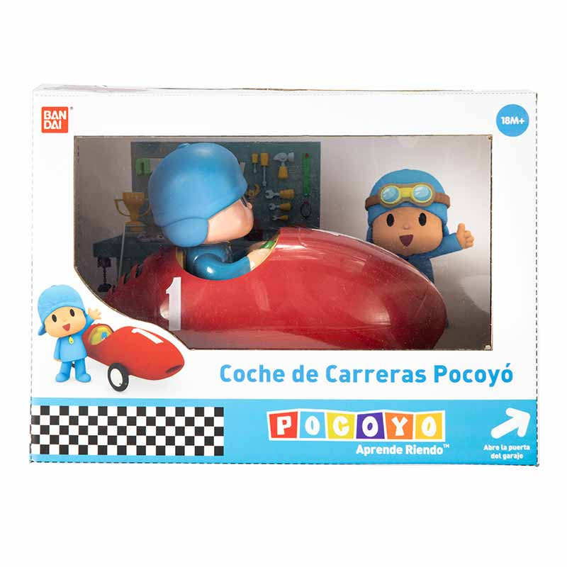 Pocoyo Carro de corrida