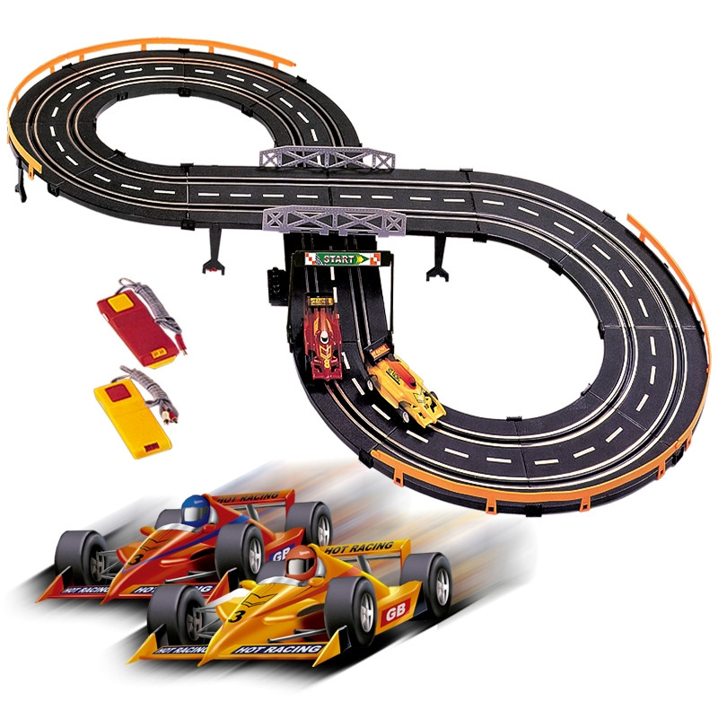 Pista com circuito de carros fórmula 1