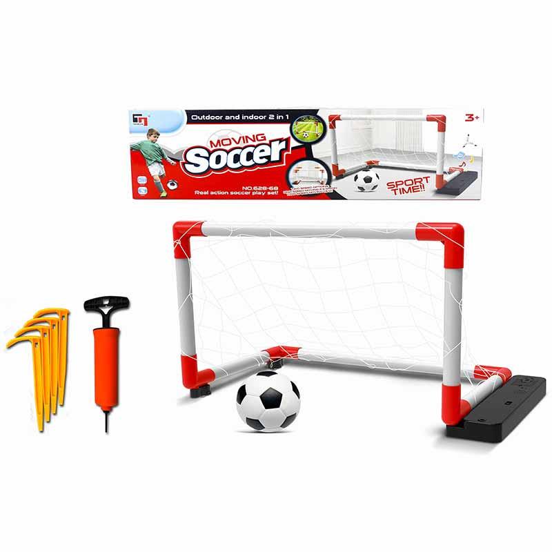 Baliza  moving soccer 67x30x41 bola e insuflador